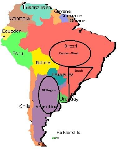 South America Regions