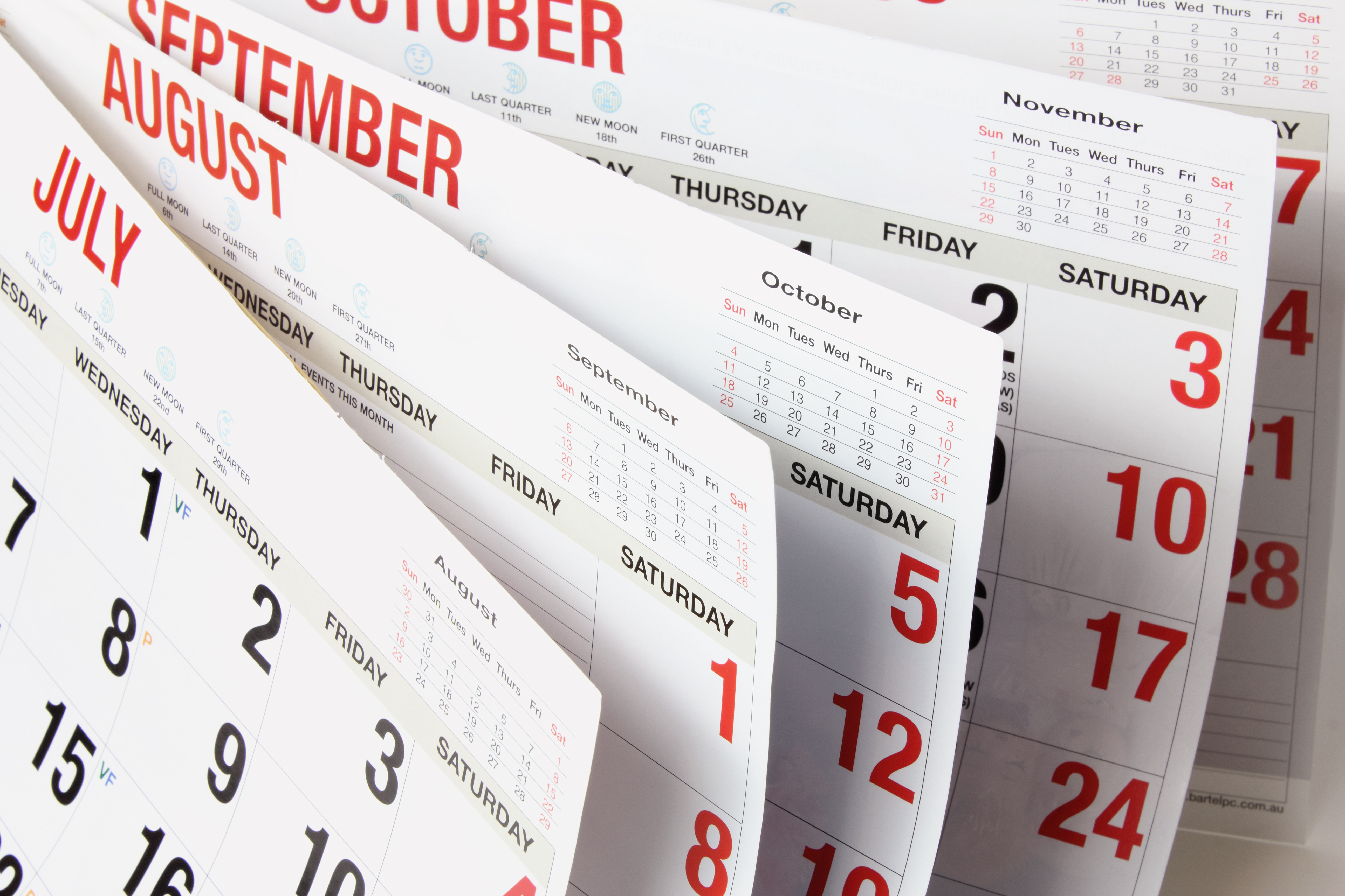 Calendar Pages : First notice day last trading daniels
