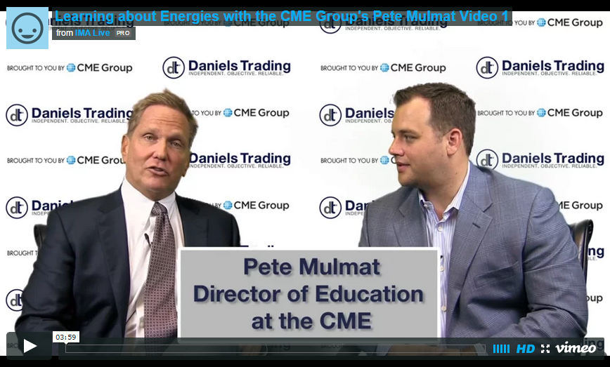 Energy Markets with The CME Group's Pete Mulmat