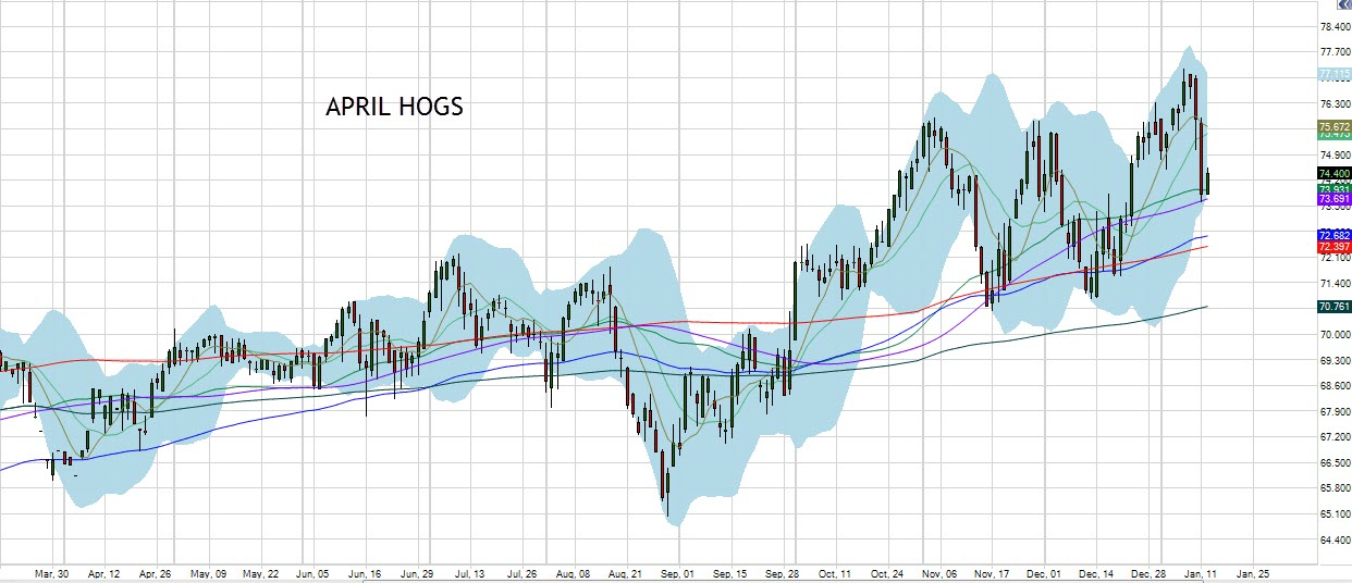 April Hogs Chart